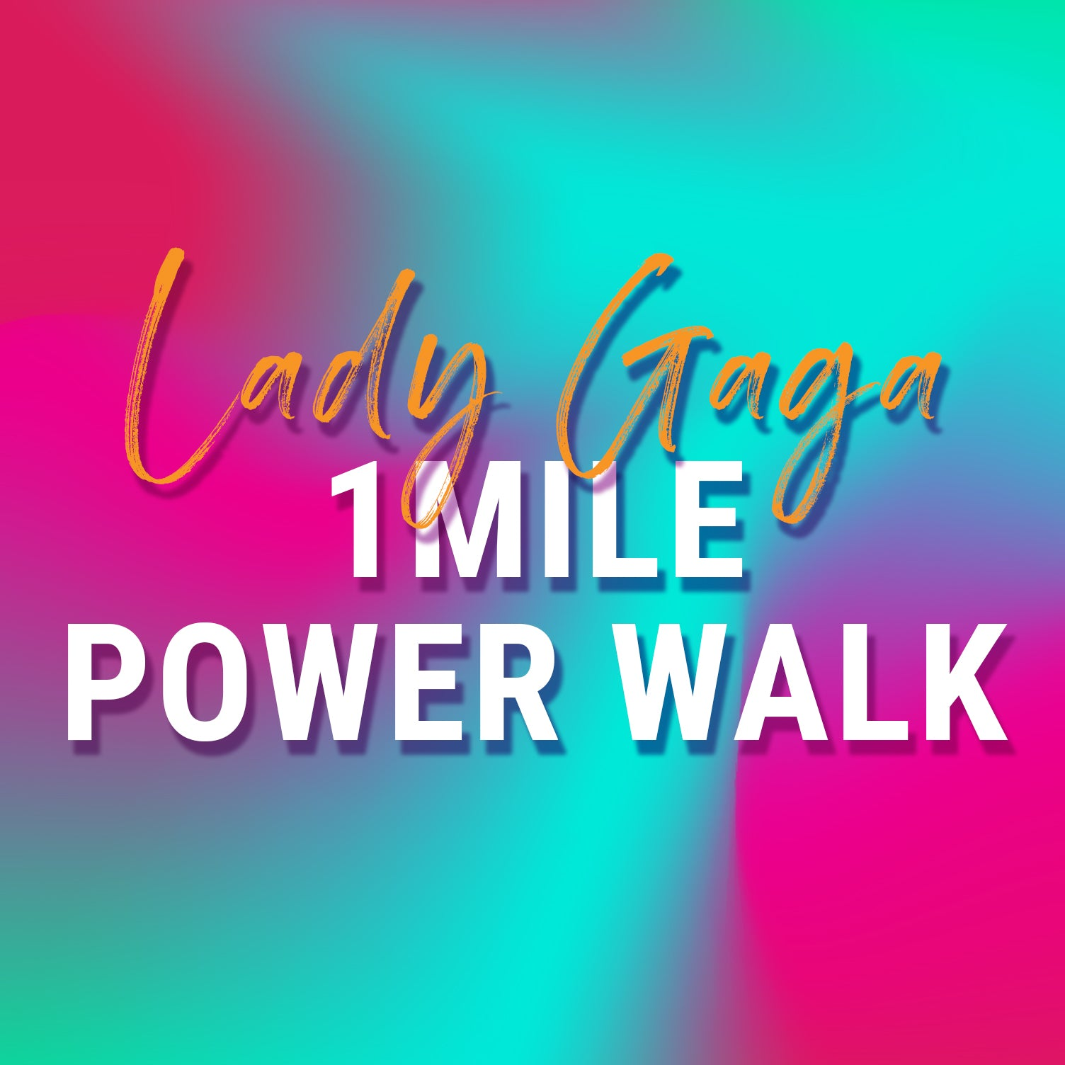 *WALK UP TO THE BEAT* LADY GAGA MIX | 1 MILE POWER WALK