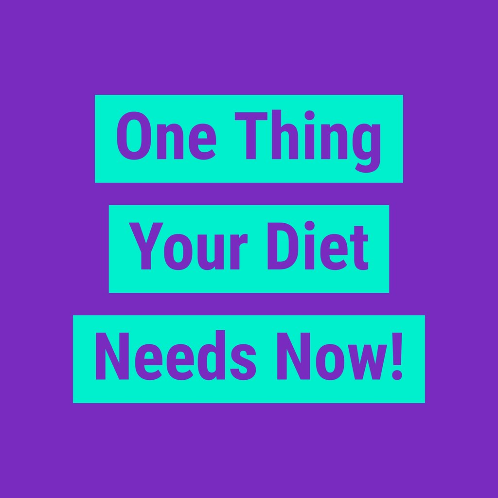 One Thing You Need More Of In Your Diet That Can Help You Lose Weight