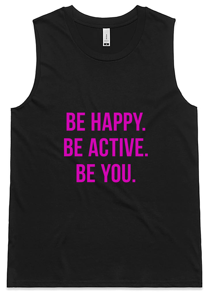 BE active Tank - Black