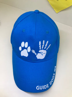 Guide Dogs WA - Blue Hat/Cap