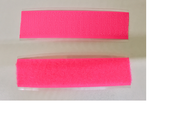 Velcro Tactile marking - Pink Hook and Loop 10cm