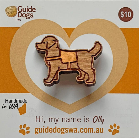 Guide Dog Pin Guide Dog in Training