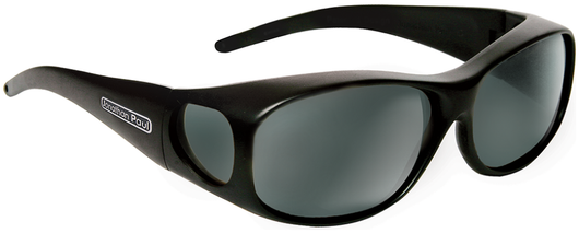 Medium - Element Matte Black Fitover - Grey Lens (Sunglasses)