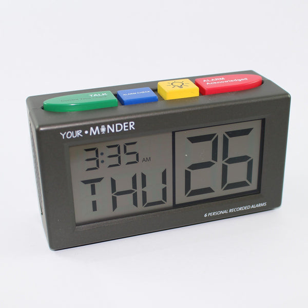 Med Centre 6 Alarm Talking Clock
