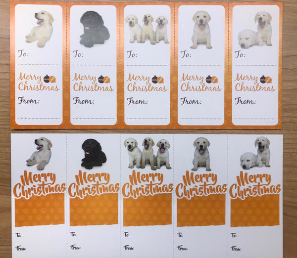 Guide Dogs WA Christmas Tags