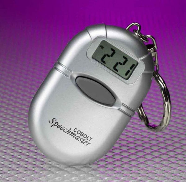 Talking Keyring Clock (Cobolt)
