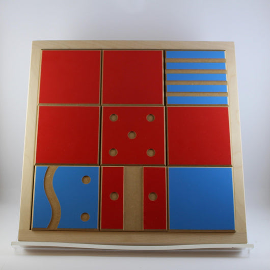 Tactile Matching Game Wooden