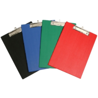 Clipboard Plastic Assorted Colours