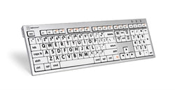 Apple keyboard Skin Black on White