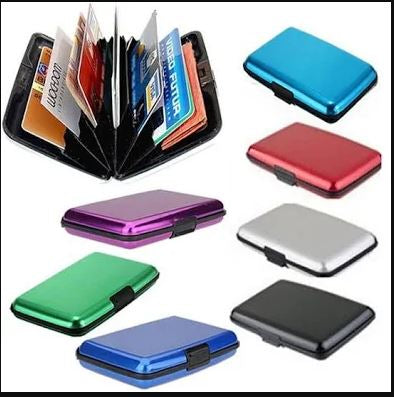 Aluminium Cards Wallet