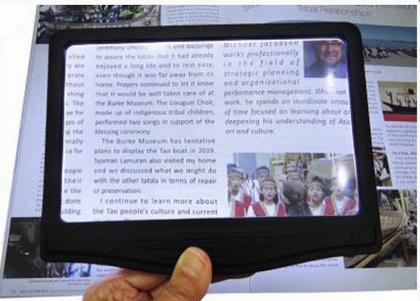3X LED Page Magnifier