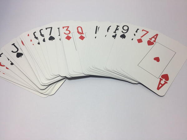 PLG4350 (GC09) - Playing Cards  Giant Size Cards (8.9cmx13.6cm)