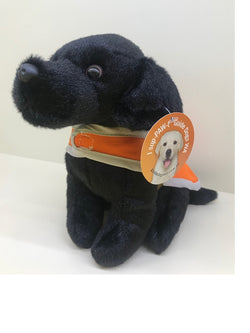 Black Guide Dog Plush Toy
