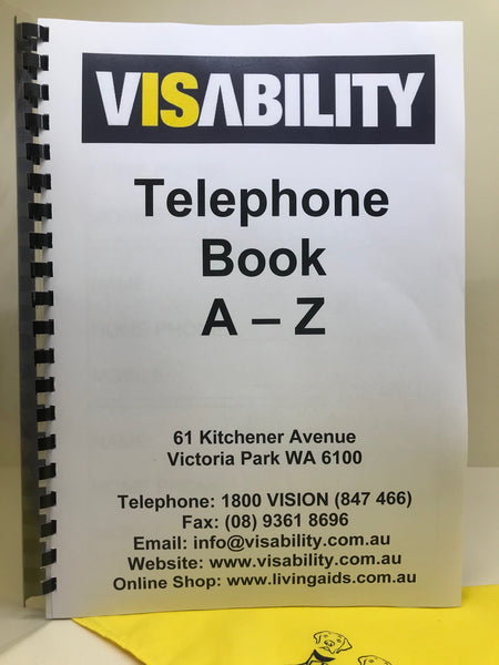 Telephone Book Large Print