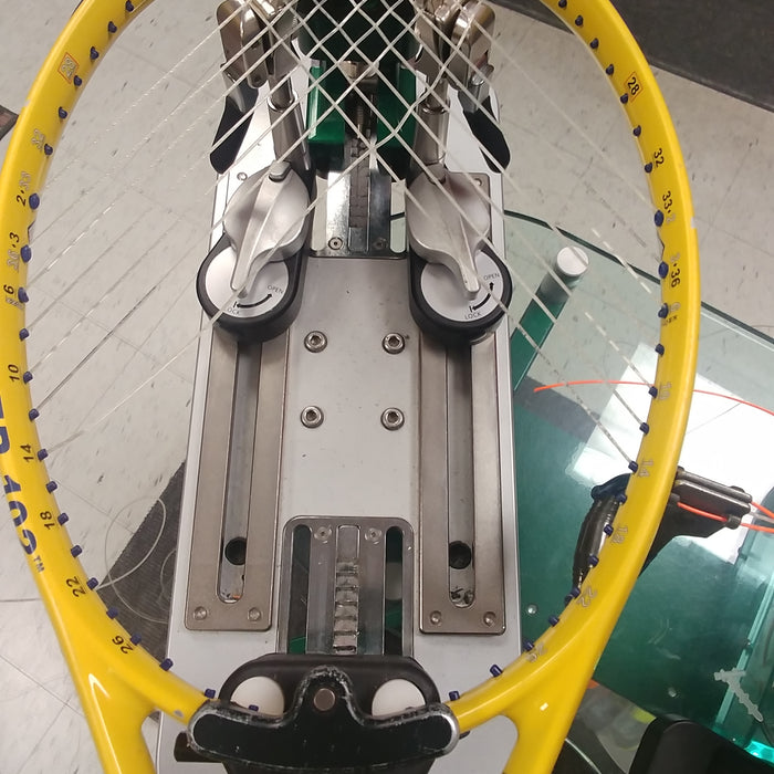 Power Angle Tennis racquet - restringing