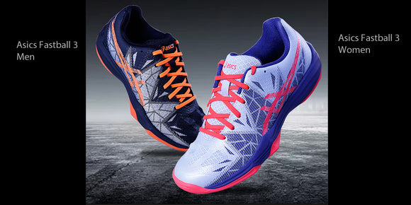 Asics Gel Fastball 3 findoor court shoe for men and women.