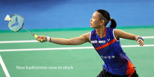 We now stock a full range of badminton gear by Yonex, Victor, Asics, and more.