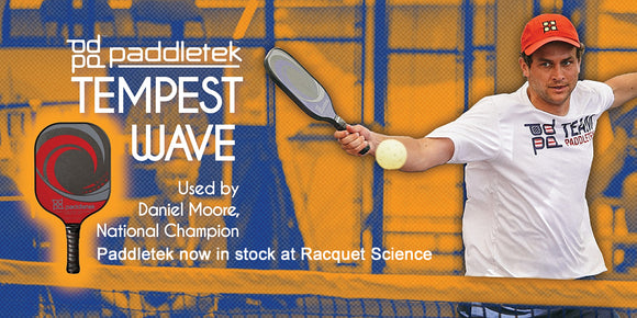 Paddletek Pickleball - now in stock at Racquet Science.
