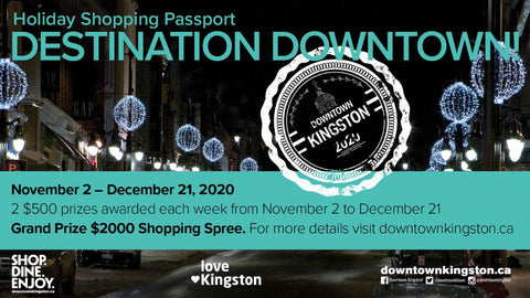 Destination Downtown Passport