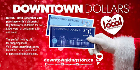 Kingston Downtown dollars