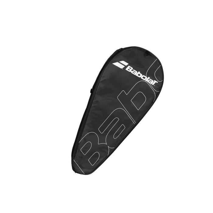 babolat tennis racquet cover black white
