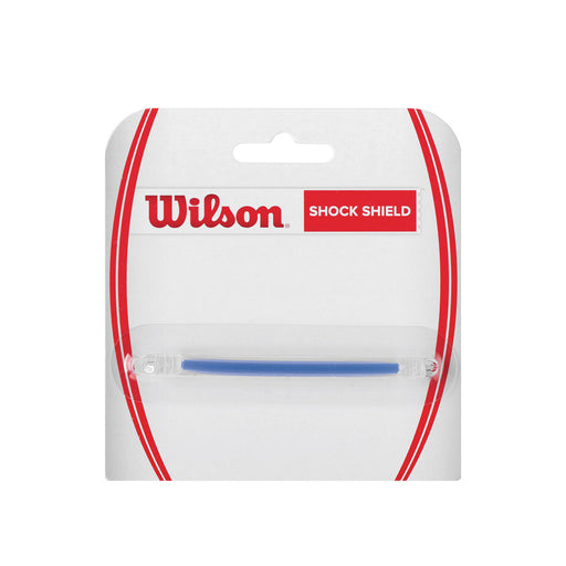 Wilson shock shield vibration damemener string clicps on ends to secure