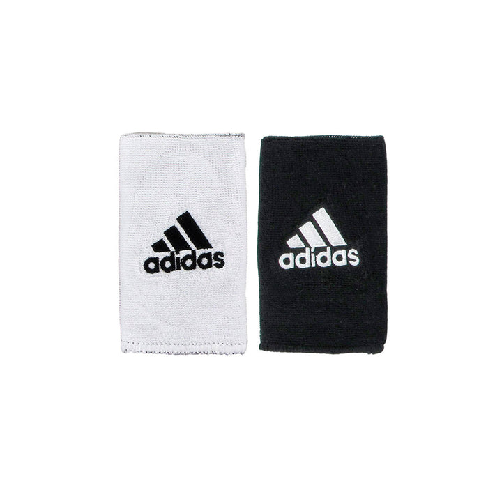 adidas interval wristbands reversible white black tennis squash badminton pickleball