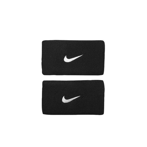 nike double length wristbands black obsidian