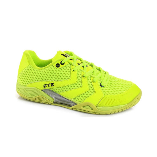 Neon Yellow of the Eye S Line indoor court shoe