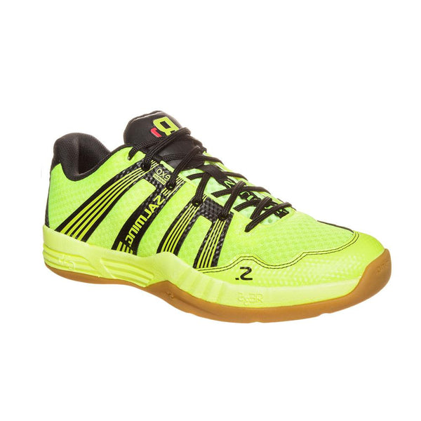 Salming Indoor court shoe for squash, badminton, and pickleball.
