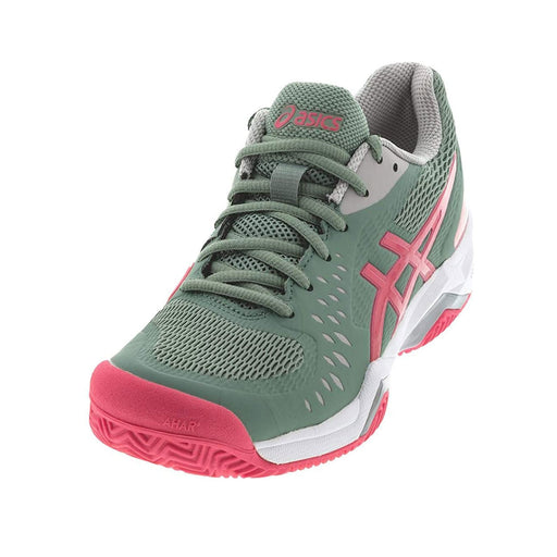 asics gel challenger 12 tennis pickleball hardcourt shoe stability support slate grey pink racquet science kingston ontario canada