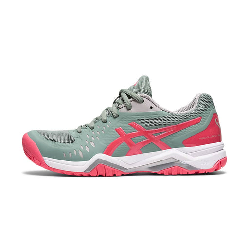 asics gel challenger 12 womens tennis pickleball shoe court hard slate grey racquet science kingston ontario canada