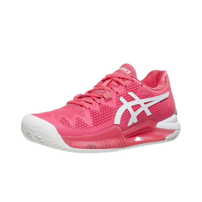 asics gel reolution 8 pink cameo tennis pickleball hardcourt shoe footwear durable supportive kingston ontario canada racquetscience