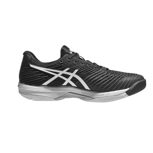 asics solution speed ff 2 black tennis pickleball court hard shoe racquet science kingston ontario canada medial view