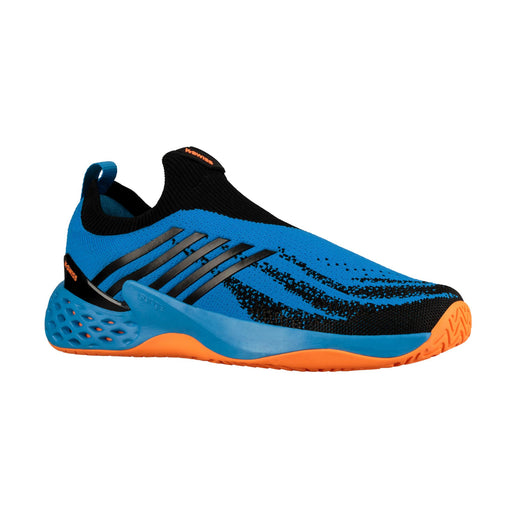 kswiss aeroknit tennis pickleball outdoor court light performance blue orange