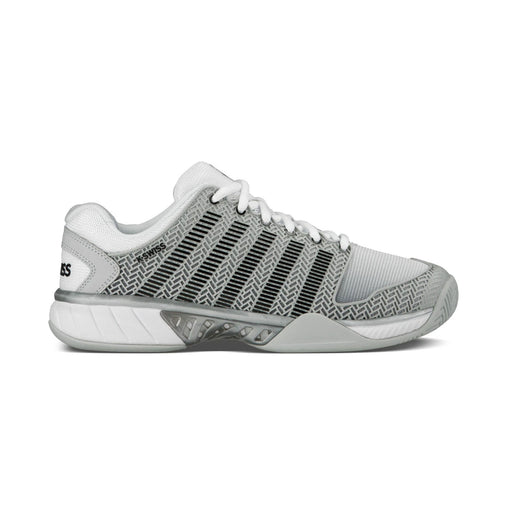 kswiss hypercourt express grey tennis pickleball shoe hardcourt clay outdoors performance