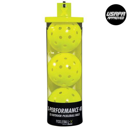 Franklin X Performance Yellow Outdoor Pickleball