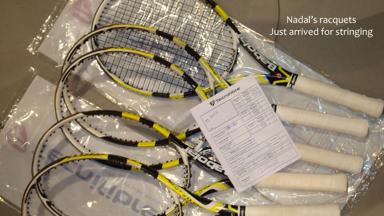 Racquet stringing & service
