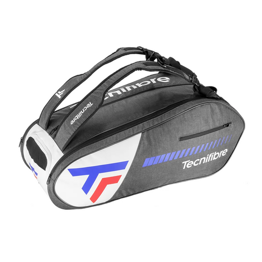 Tecnifibre 12r icon racquet bag for squash, tennis, badminton, and pickleball.