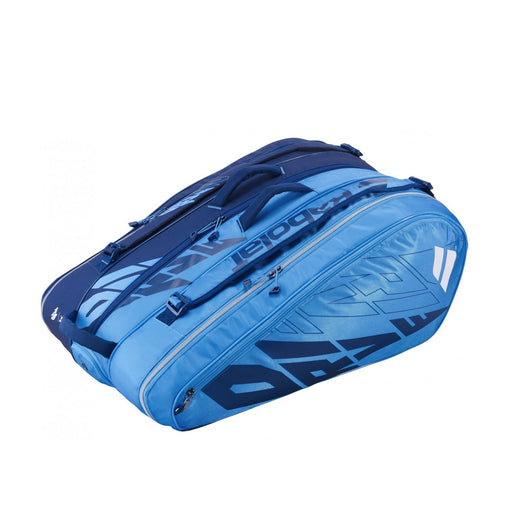 babolat rh x 12 pure drive 2021 gear bag tennis squash badminton pickleball 12 racquet 3 compartments light blue side