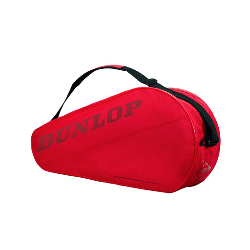 dunlop cx club 3 racquet bag red super simple basic tennis squash badminton
