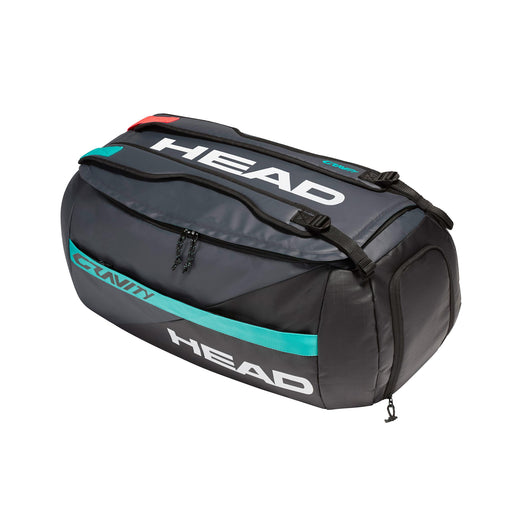 head gravity sport bag tennis pickleball squash badminton duffle bag dividers 6 racquet