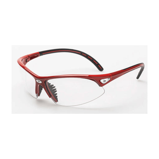 Dunlop I armour glasses for badminton squash pickleball red colour protective eyewear