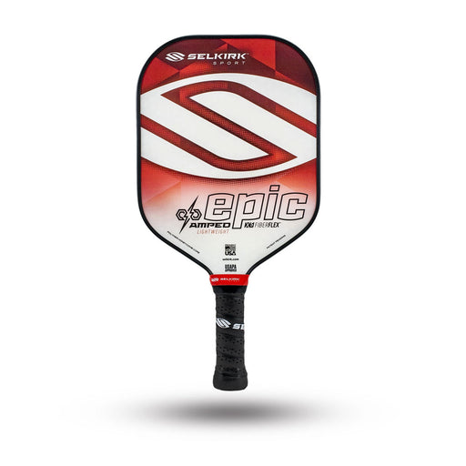 Selkirk Amped Epic Lightweight Red at Racquet Science