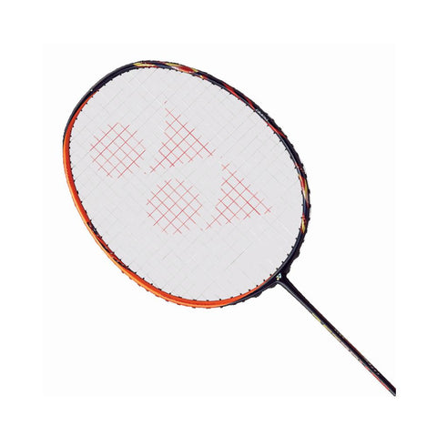 Yonex Astrox 99 badminton racquet for an attacking game.