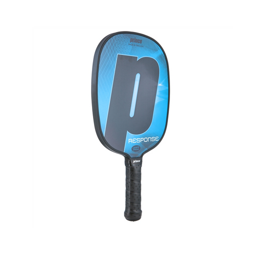 Prince response pickleball paddle, blue, lightweight, and huge sweetspot