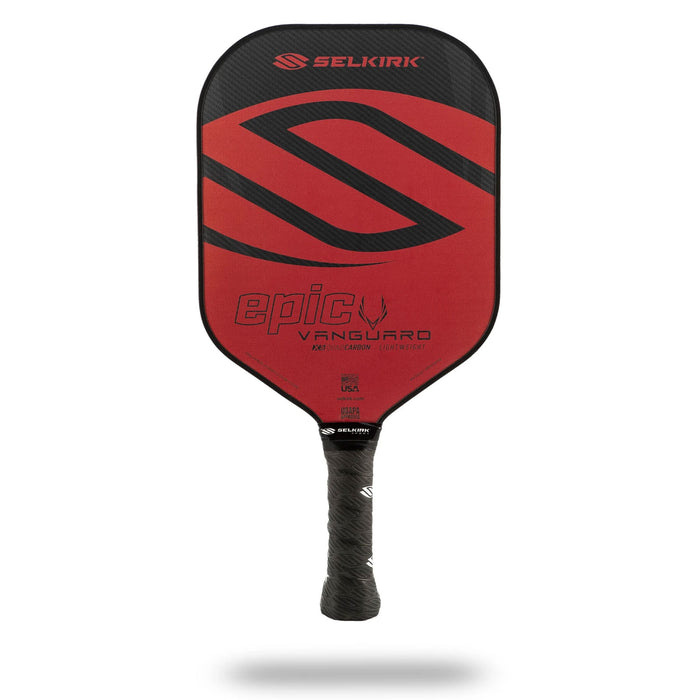 Selkirk Vanguard Epic Hybrid pickleball paddle all around performance longer handle kingston ontario canada performance graphite amped weave