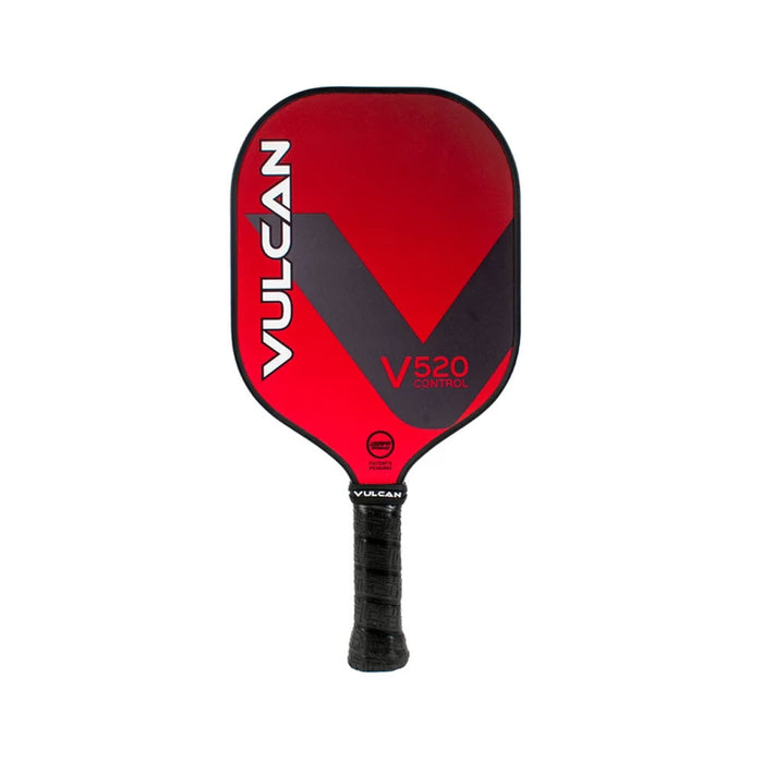 Vulcan V520 Dead Red Pickleball Paddle at Racquet Science