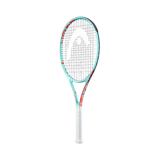 Head MX Attitude Elite tennis racquet mint color for recreational fun play, Strung racquet.
