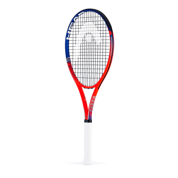 HEad Cyber Pro orange tennis racquet for the starter tennis player. Full graphite.